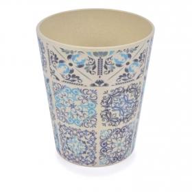 Vaso Bambú Oporto 8,5X9,8 cm Decorado