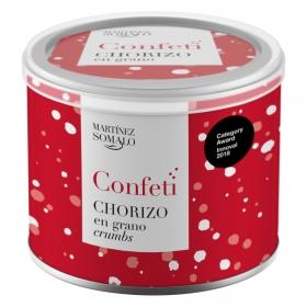 Confeti de chorizo en grano Martínez Somalo 60 g.