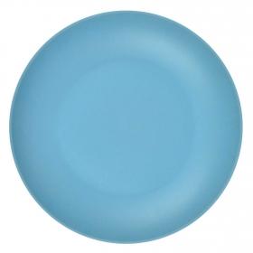 Plato Hondo Bambú Oporto 20,5 cm  Azul