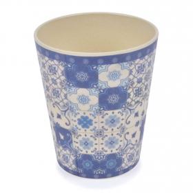 Vaso Bambú Lisboa 8,5X9,8 cm Decorado