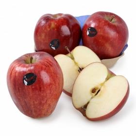 Manzana roja premium selecta Carrefour bandeja 4 ud 1 Kg aprox