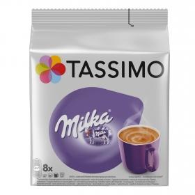 Cacao y leche en cápsulas Milka Tassimo 8 unidades de 42 g.
