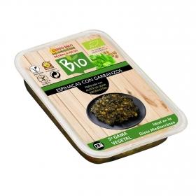 Espinacas con garbanzos ecológicos Campo Rico 250 g