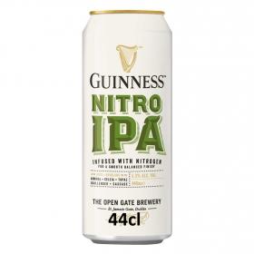 Cerveza Guinness IPA nitrogenada lata 44 cl.