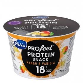 Queso fresco batido quark protein de mango y vainilla Valio sin lactosa 175 g.