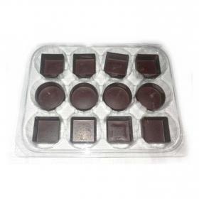Surtido tartaletas chocolate Dillepasa envase de 12 ud