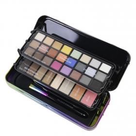 Set de maquillaje: paleta de sombras y brocha The color workshop The color workshop  1 ud.