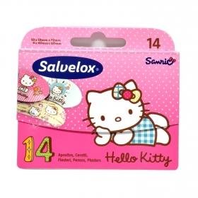 Apósitos Hello Kitty Salvelox 14 ud.