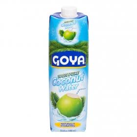 Agua de coco Goya brick 1 l.