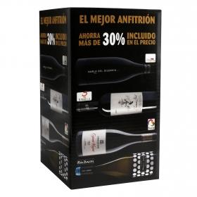 Vino Juan Gil Etiqueta Plata + Habla del Silencio + Cepas Viejas + Paco & Lola pack de 4 botellas de 75cl.