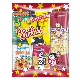 Pack de aperitivos estrella Risi 158 g.