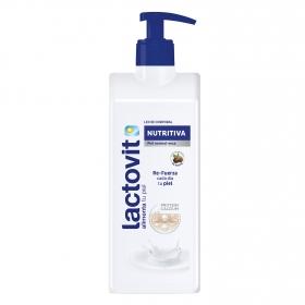 Crema corporal nutritiva para piel seca