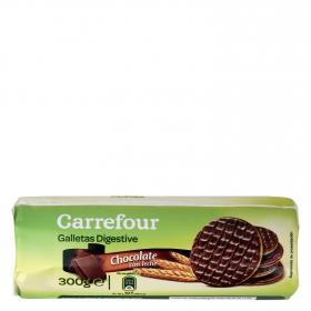 Galletas con chocolate digestive