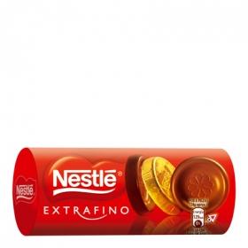 Chocolatinas de chocolate con leche extrafino Nestlé sin gluten 83 g.