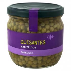 Guisantes extrafinos Carrefour 230 g.