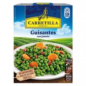 Guisantes con jamón Carretilla 240 g.