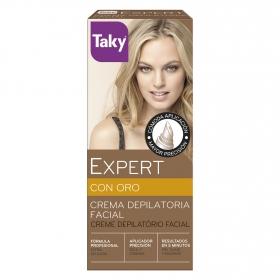 Crema depilatoria facial Expert con oro