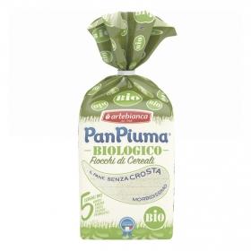 Pan de molde de 5 cereales sin corteza ecológico Pan Piuma 400 g.