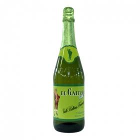 Sidra El Gaitero sin alcohol 70 cl.