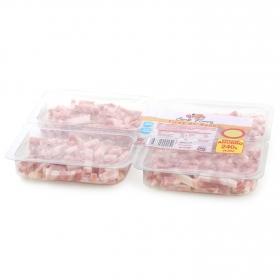 Bacon cocido ahumado en tiras El Pozo pack (4x60g) envase 240 g