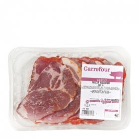 Aguja de Cerdo Adobada Carrefour 400 g