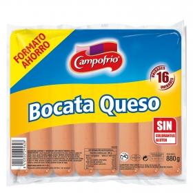 Salchichas bocata con queso Campofrío 880 g.
