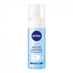 Limpiador facial mousse refrescante para piel normal