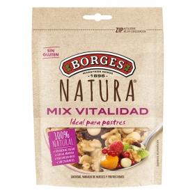 Cocktail de nueces y frutos rojos Borges 120 g.