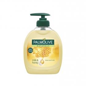 Jabón liquido de manos con leche y miel