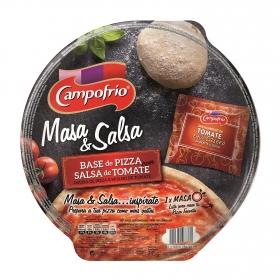 Masa & Salsa Base de pizza con salsa de tomate
