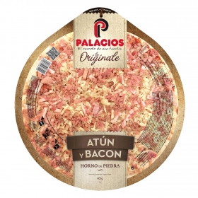 Pizza de atún y bacon La Originale Palacios 405 g.