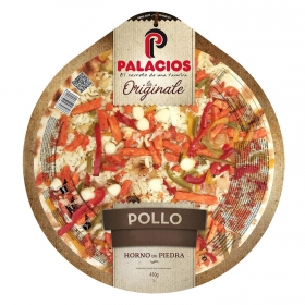 Pizza de pollo La Originale Palacios 410 g.