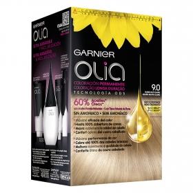 Tinte 9.0 Rubio muy Claro Garnier Olia 1 ud.