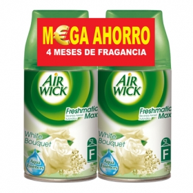 Ambientador Automático Recambio Fresh Matic White Bouquet Pack