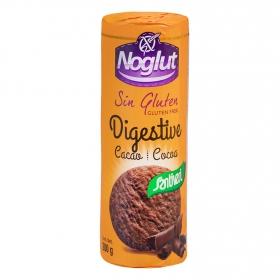 Galleta digestive cacao Santiveri Noglut 200 g.