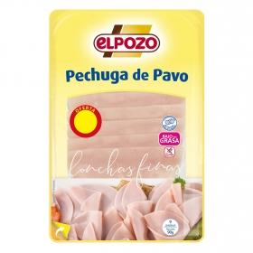 Pechuga de pavo en Finas lonchas El Pozo 90 g.