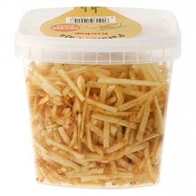 Patatas paja ketchup bote