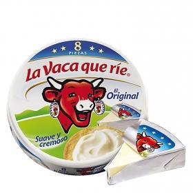 Queso en porciones La Vaca que ríe 125 g.