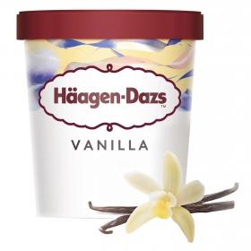 Helado de vainilla Häagen Dazs 400 g.