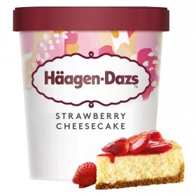 Helado de cheesecake y fresas Häagen Dazs 400 g.