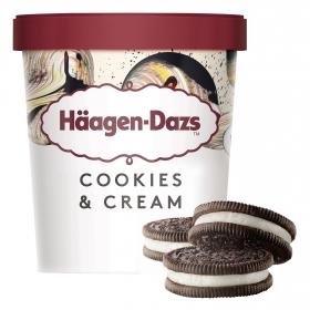 Helado de galletas y crema Häagen Dazs 386 g.