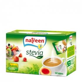 Edulcorante granulado de la planta stevia