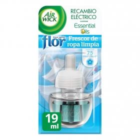 Ambientador eléctrico Flor Frescor Ropa recambio Air Wick 1 ud.