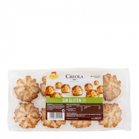 Pastas de coco Creola - Sin Gluten