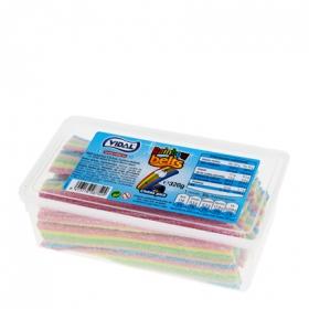 Caramelos de goma Rainbow Belts Vidal 320 g.