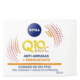 Crema de día Energizante Vitamina C Nivea Q10 50 ml.