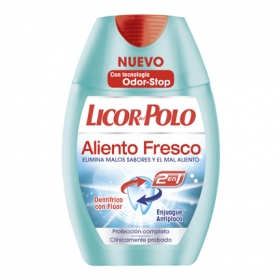 Dentífrico 2 en 1 Aliento Fresco