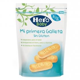 Galletas infantiles desde 4 meses Hero Baby sin gluten 180 g.
