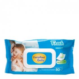 Toallitas de bebé con tapa