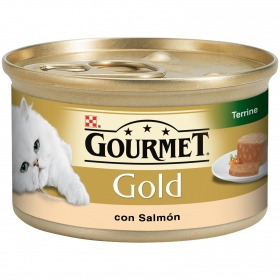 Comida para gatos Terrine con Salmón